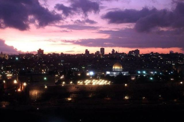 The Crazy Night Life of Jerusalem