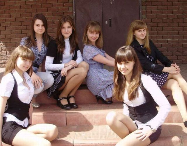 Modern Russian Schoolgirls: Chic or Slutty?