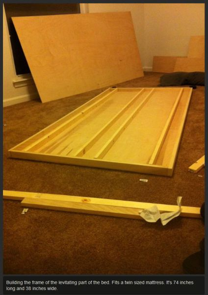 DIY Levitating Bed