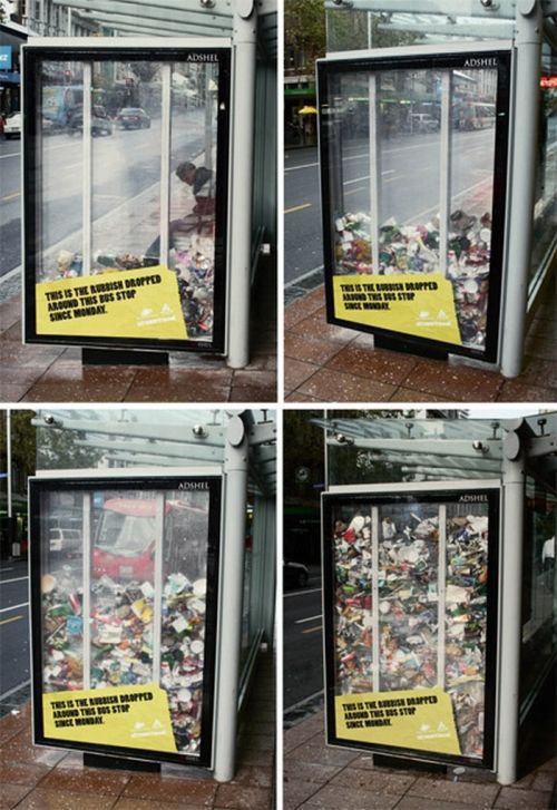 Amazing Guerilla Marketing Ads. Part 2