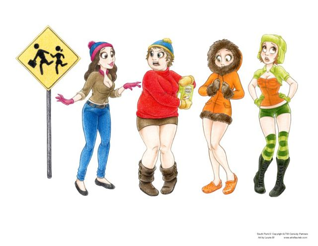 Creative Cartoon Gender Swaps