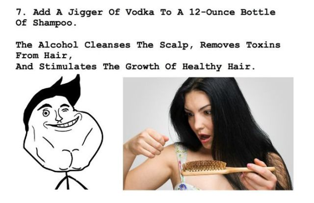 Amazing Vodka Lifehacks