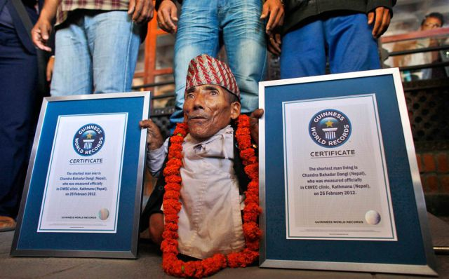 Guinness World Records of 2012 in Pictures