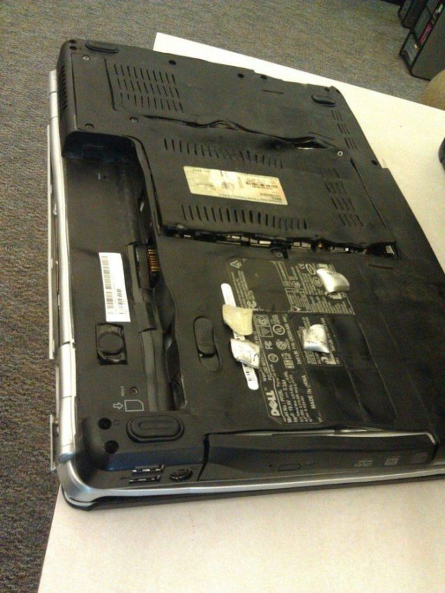 Laptop Drying Done Totally Wrong