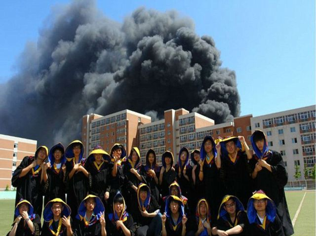 The School Is Gone for These Graduates… Literally