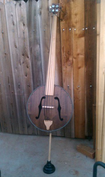 Washtub Double Bass