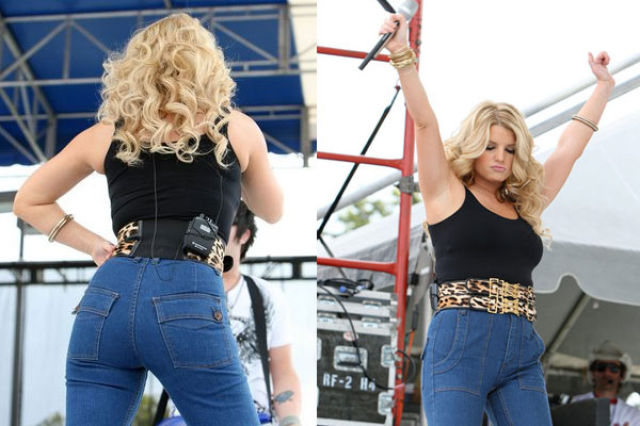 A Visual Timeline Of Jessica Simpson S Body 26 Pics