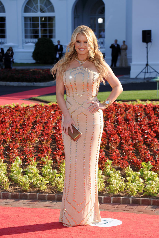 A Visual Timeline of Jessica Simpson's Body
