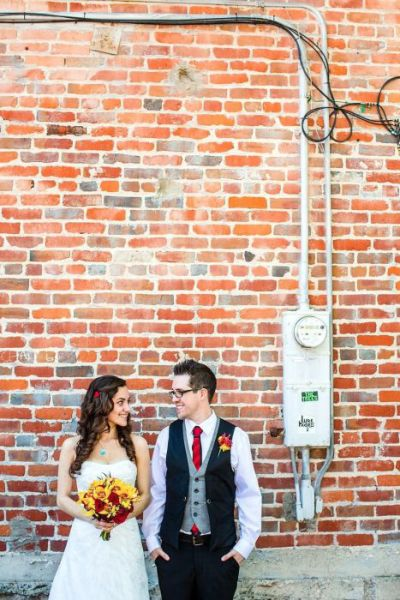 Geeky Minecraft Wedding