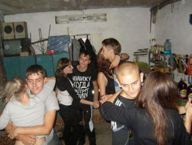 частные молодежные вечеринки русские дал