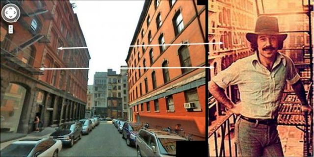 Locations Where Vintage Album Covers Were Shot