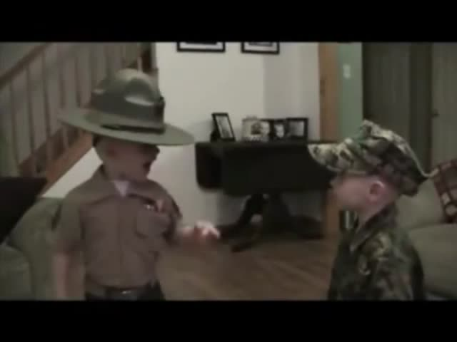 Funny Little Drill Instructor