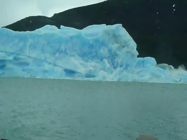 Iceberg Flips Over