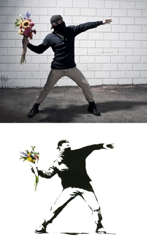Banksy's Graffiti Recreated IRL
