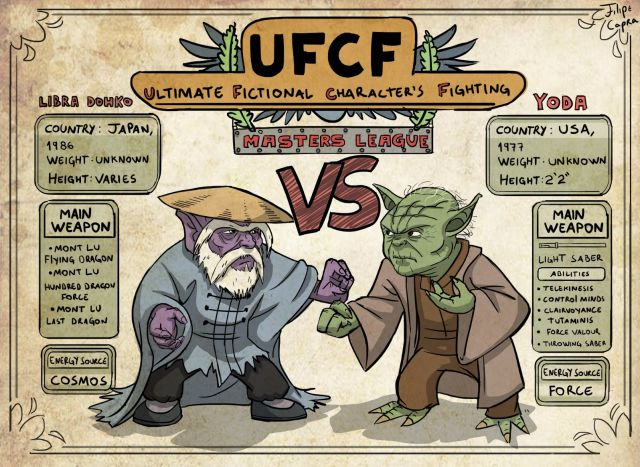 Ultimate Fictional Characters Fighting