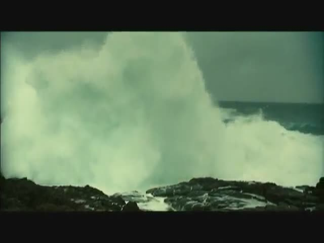 The Incredible Power of a Sea Storm