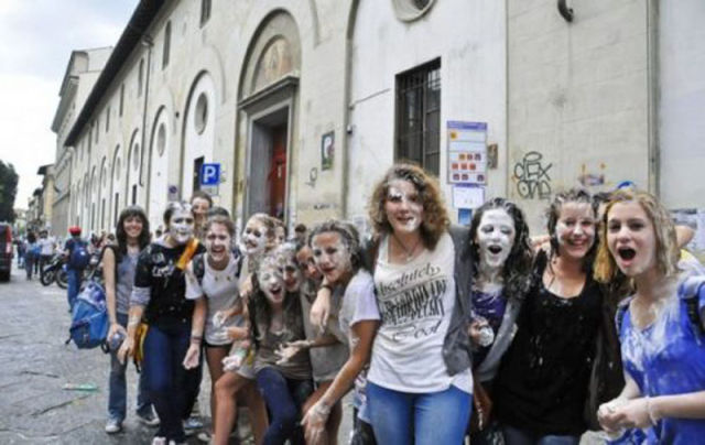 The Last Day of High School In Italy Rocks