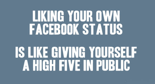 You're Addicted to Facebook If…