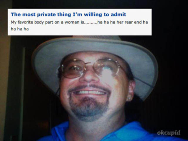 Bizarre Pics from Dating Websites That You Can Barely Explain