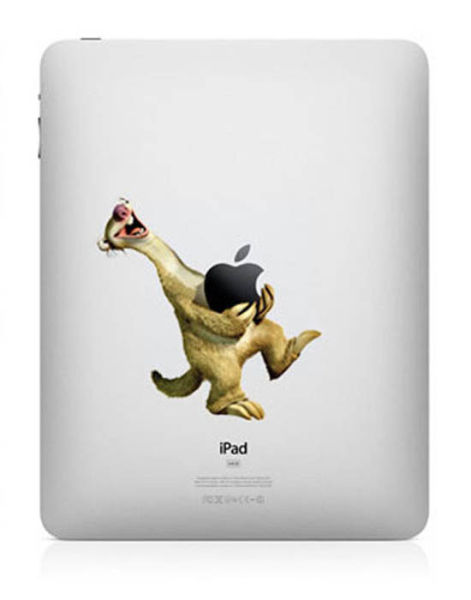 Brilliant iPad Decals