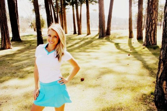 Golf Needs This Blonde Bombshell