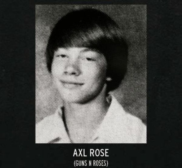 Rock Star Pictures from Their Yearbooks