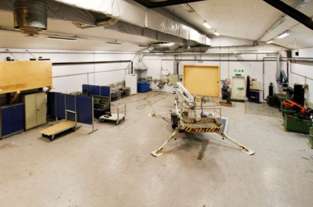 Cold War Submarine Base for Sale in Norway
