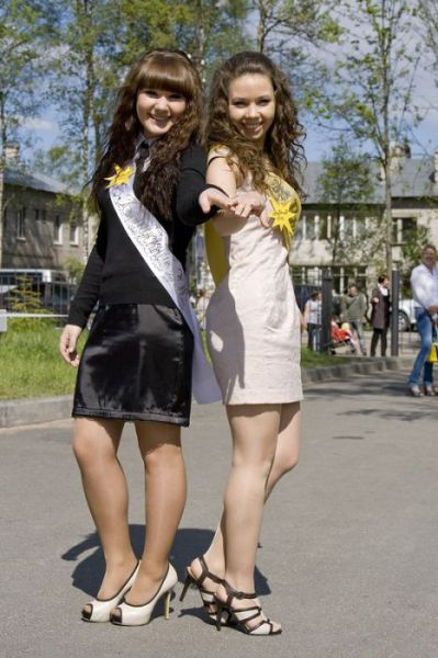 The Cutest 2012 Russian Graduates