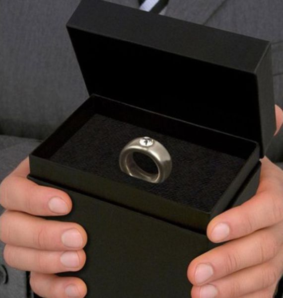It Only Looks Like an Engagement Ring