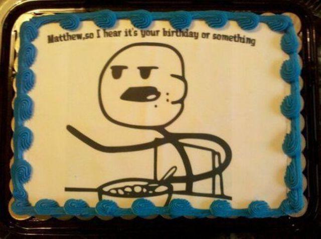 Delicious Internet Meme Cakes 23 Pics Izismile Com