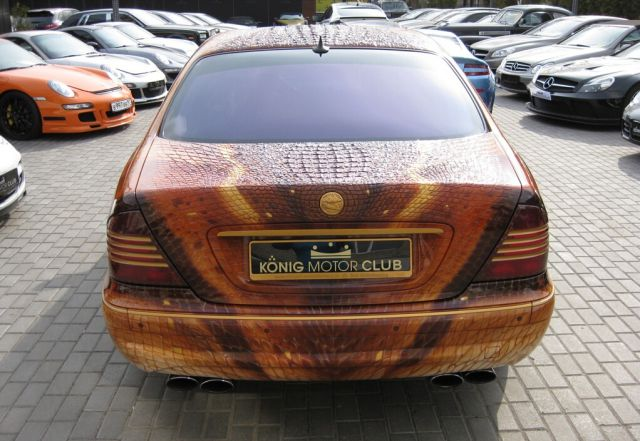 Dragon Themed S-Class Mercedes