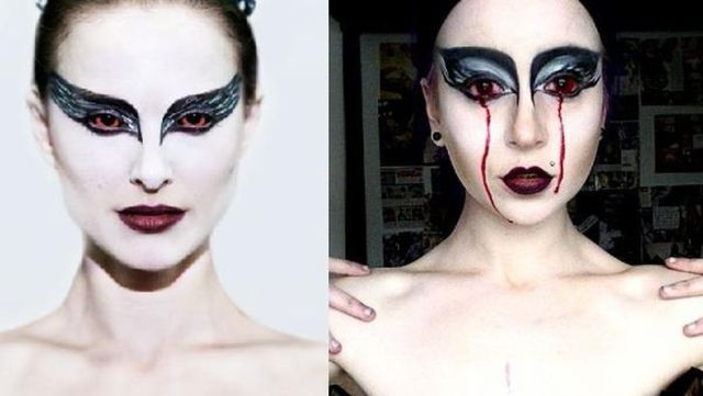 "Weird ""Glamorous Gore"" Make-Up"