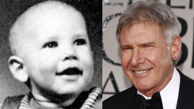 Baby Pictures of Famous Actors