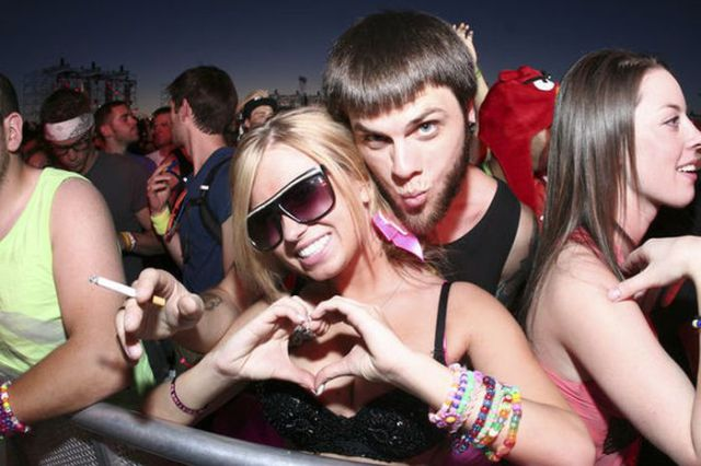 Cute Chicks from the Electric Daisy Carnival