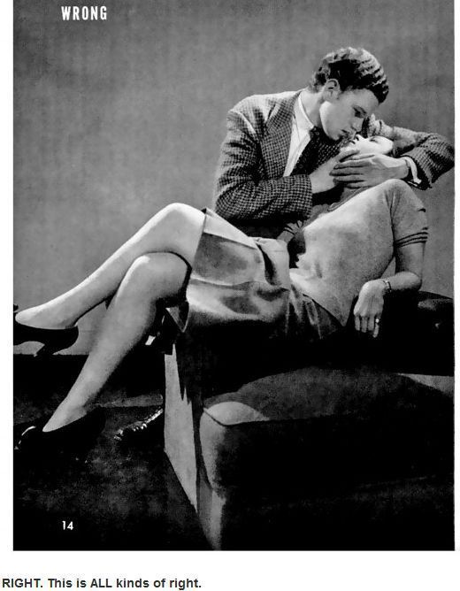 Vintage Kissing How-to