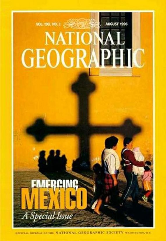 National Geographic Covers over the Years