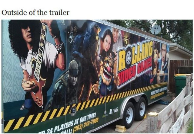 Rolling Video Games Truck Is a Gaming Fan's Dream