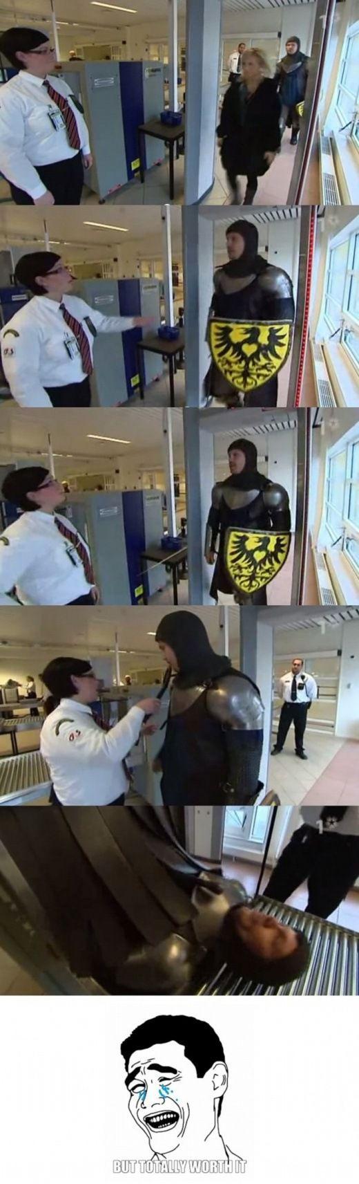 Swedish Airport Troll