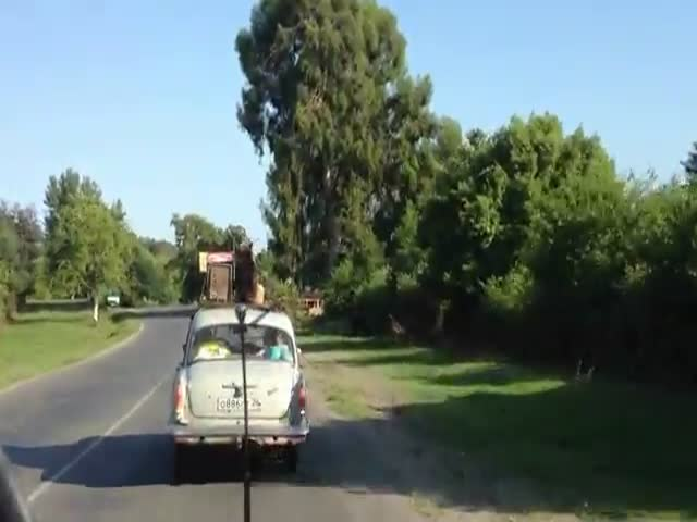 Russian Driving at Its Best