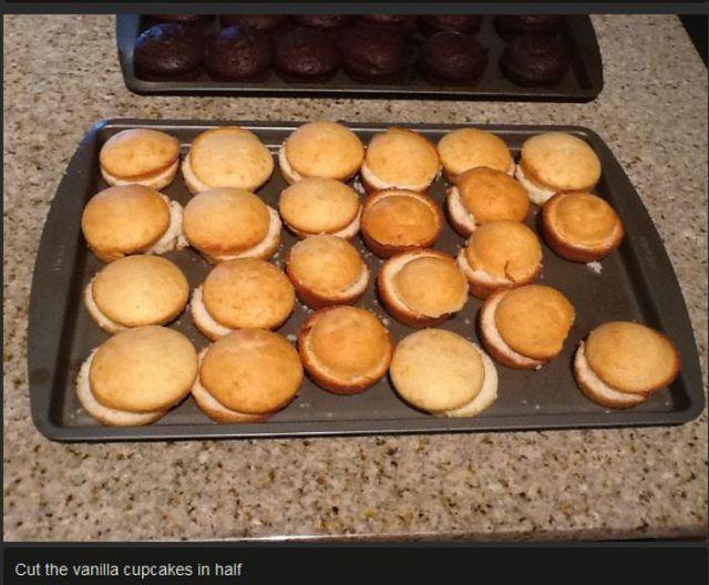 How To Make Hamburger Cupcakes