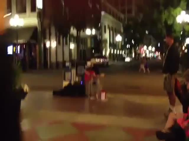 Amazing Song of San Diego Street Musician