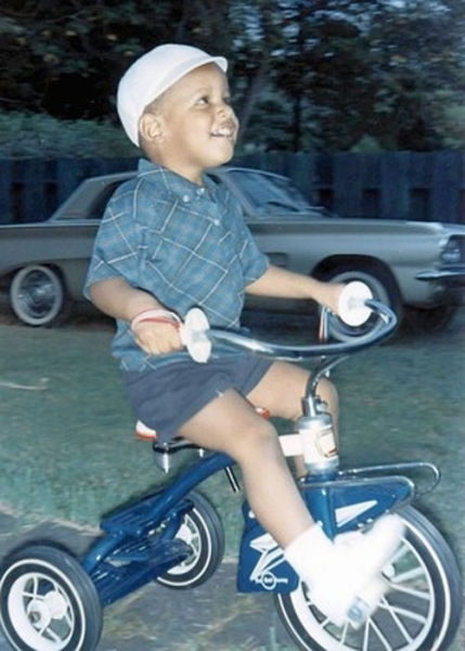 Barack Obama Was One Cute Kid