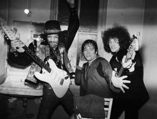 Kicking It With Jimi Hendrix