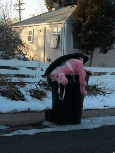 Really Unhappy Street Junk