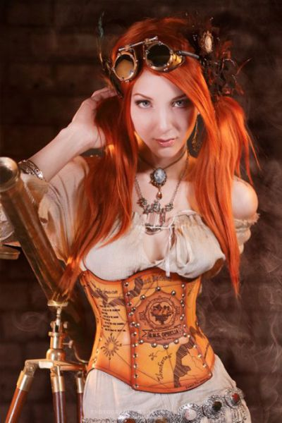 Steampunk Cosplay Hotties