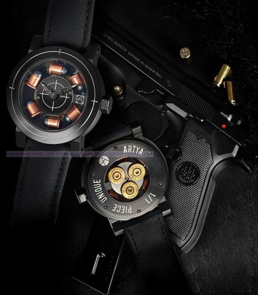 Wristwatches for the Real Gun Lovers