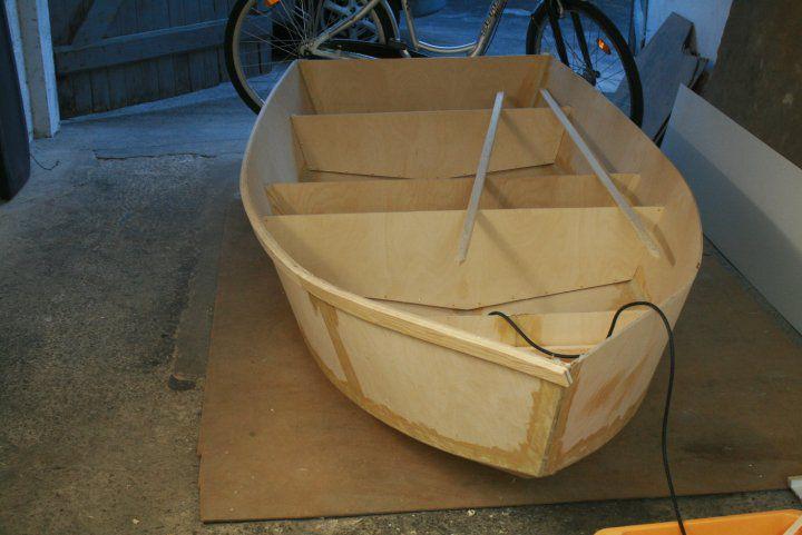 Лодка своими руками из оцинковки