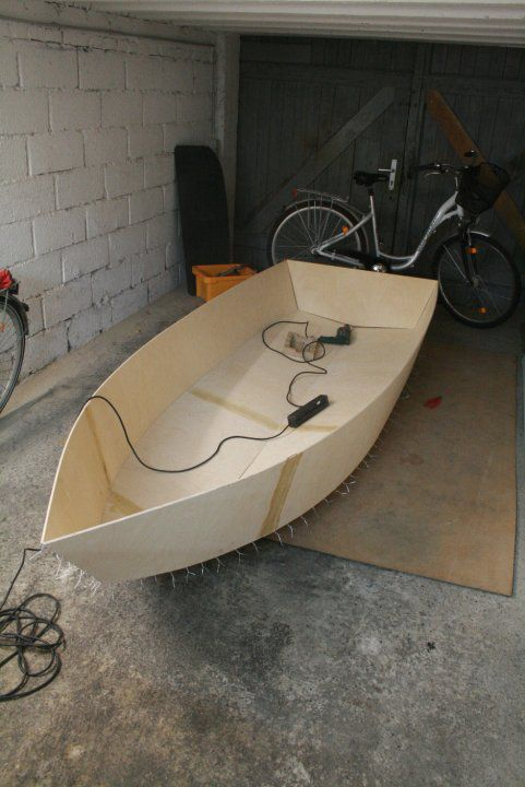 how to build a boat out of paper