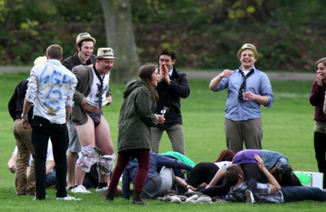 This Is How Cambridge Students Celebrate