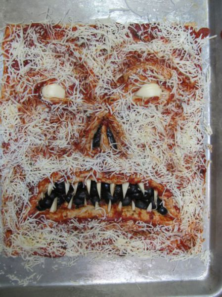 This May Be the World's Scariest Pizza
